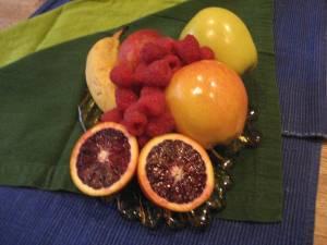 fruit arrangement