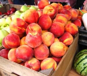 Peaches at their peak