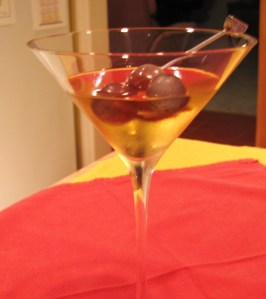 Ice Wine Martini 2