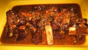 Chris' braised short ribs
