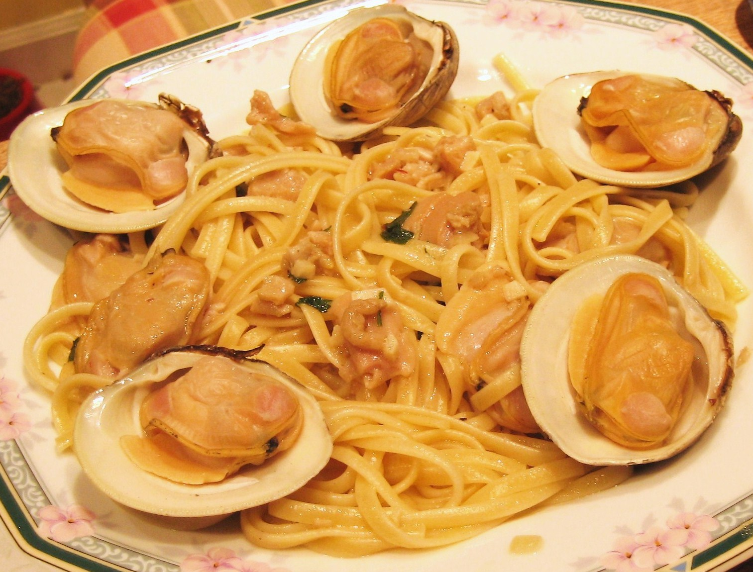 linguini with clam sauce 6