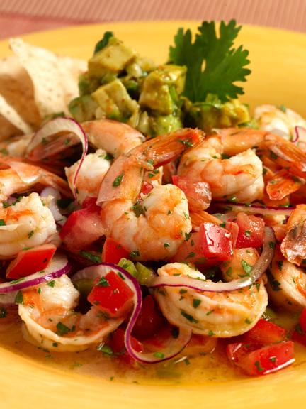Shrimp ceviche tonic for a hot summer day sweetpaprika for Shrimp and fish ceviche