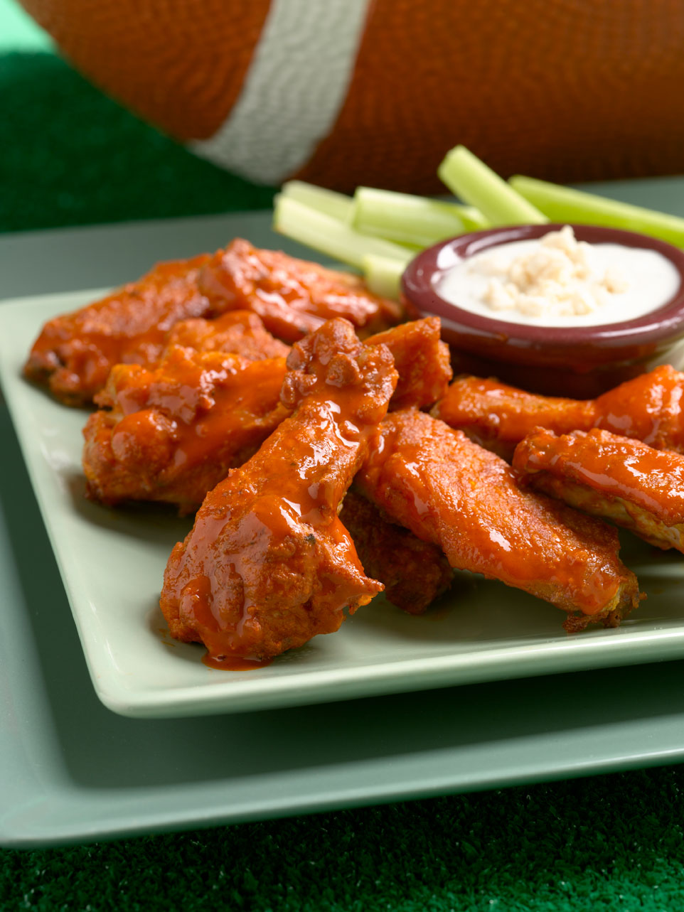 This is a simple recipe for a traditional favorite. These chicken wings are sure to please. Adjust the hot sauce if you want these Buffalo Wings hotter or not.