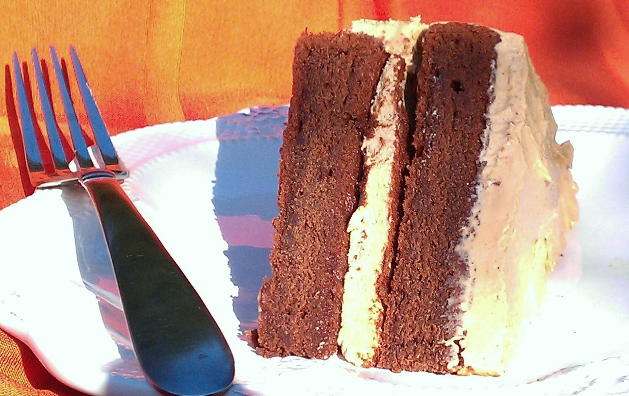 Daredevil's Food Cake With Mocha Buttercream Icing Recipe ...