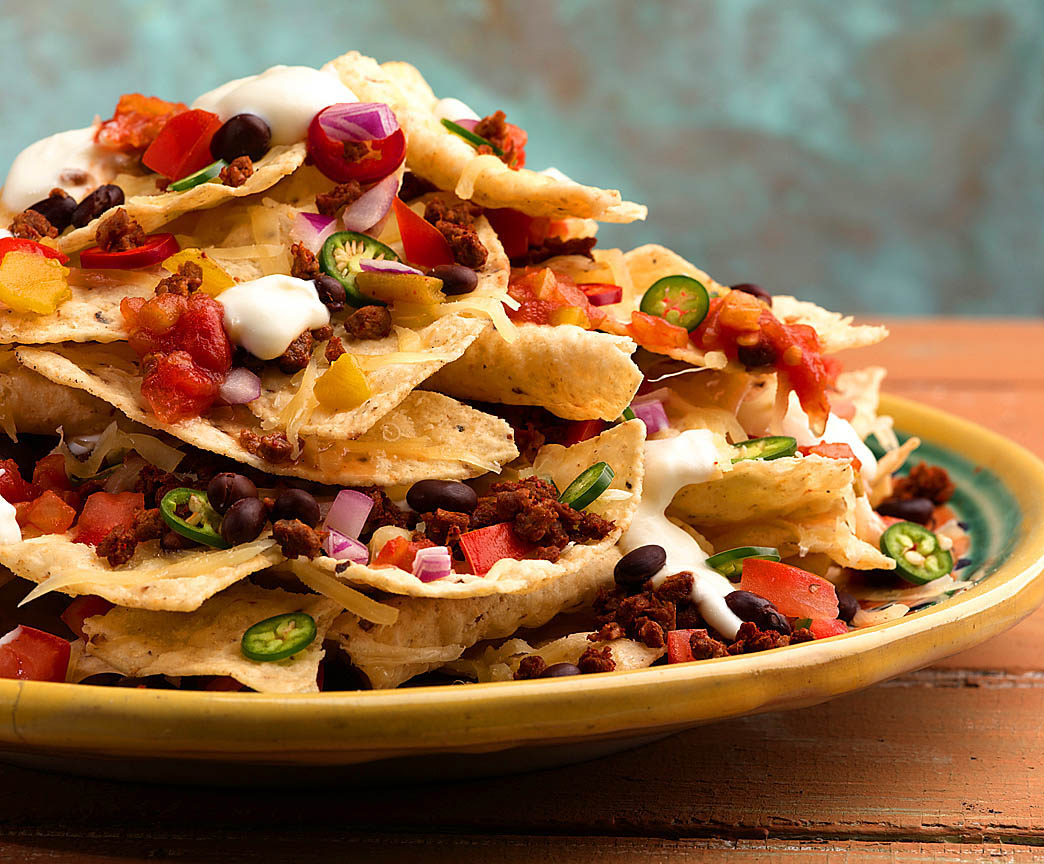 ... nachos. The mouthfeel of the individual ingredients is the wow factor